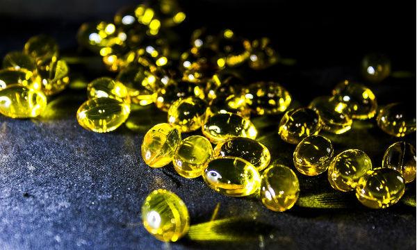 Olio di pesce in capsule